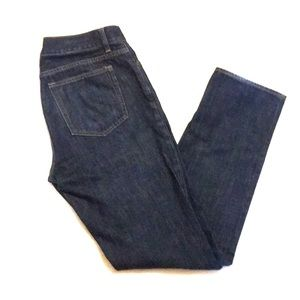 J. Crew Driggs 100% Cotton Indigo Blue Jeans